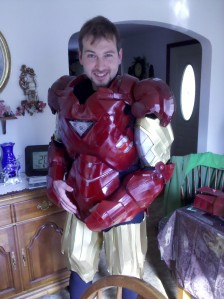 Iron Man - trial run - front view