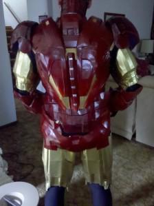 Iron Man - trial run - back view